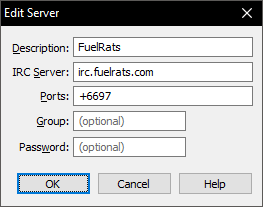 IRC Client Setup Guides - Fuel Rats Knowledge Base - Fuel